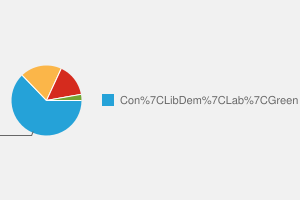 2010 General Election result in Richmond (Yorks)
